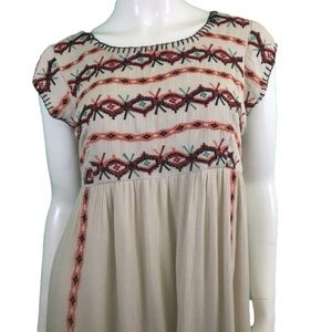 NWT THML Embroidered Dress